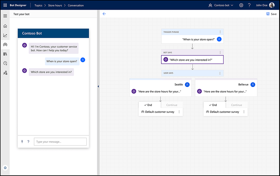 Microsoft Dynamics 365 Virtual Agent